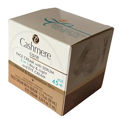 CASHMERE CARE FACE CREAM WITH SERUM 2 IN 1 DAY/NIGHT AND EYE CREAM 45+ ()