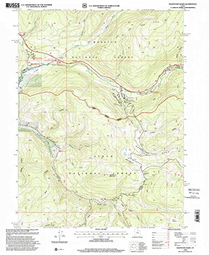 Soapstone Basin UT topo map, 1:24000 scale, 7.5 X 7.5 Minute, Historical, 1998, updated 2001, 26.7 x 21.8 IN - Paper