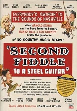Amazon Second Fiddle To A Steel Guitar Kitty Wells Webb