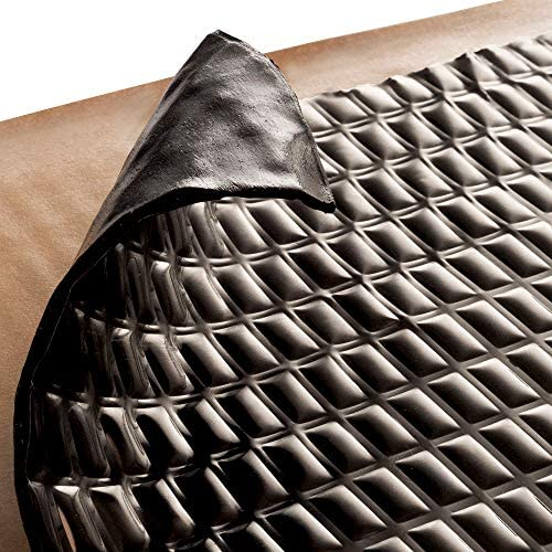 Car Sound Dampening Material Siless Liner 157 mil 36 sqft Sound Deadening mat Sound Deadener Mat Sound deadening Material Sound Insulation Sound dampener Car Sound deadening