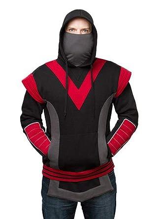 Amazon.com: Adult Ninja Sudadera con Capucha (Negro), XL ...