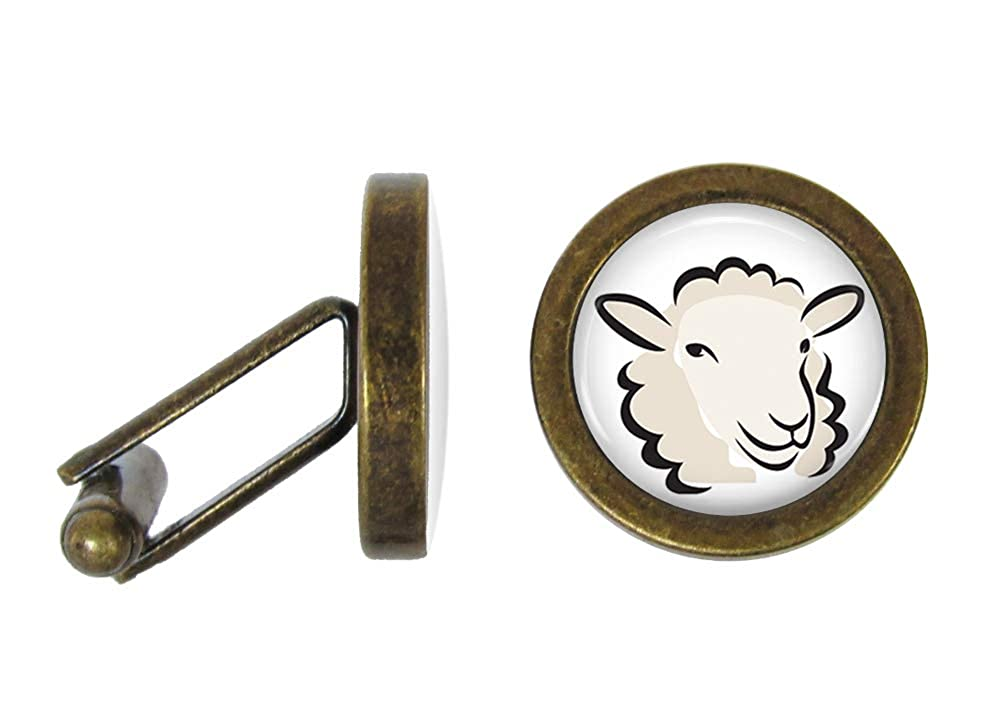 Angled Edition Oakmont Cufflinks Sheep Cufflinks Sheeps Cuff Links