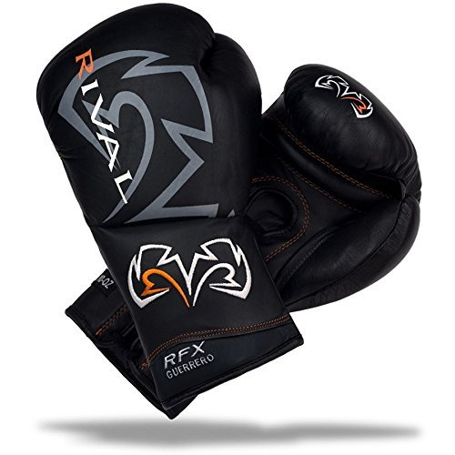 Rival Boxing RFX Custom SF Guerrero Fight Gloves - 8 oz. - Black