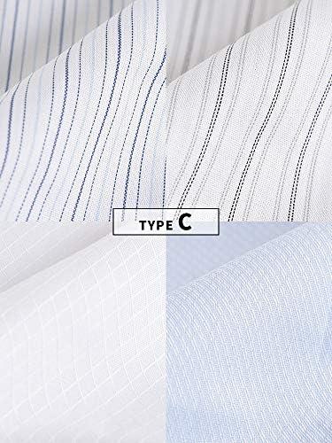 [サカゼン] ワイシャツ 半袖 大きいサイズ メンズ 4枚セット ボタンダウン 形態安定 ビジネス オフィス 会社 仕事着 快適 PIMLICO ピムリコ 3L 4L 5L 6L Yシャツ bt