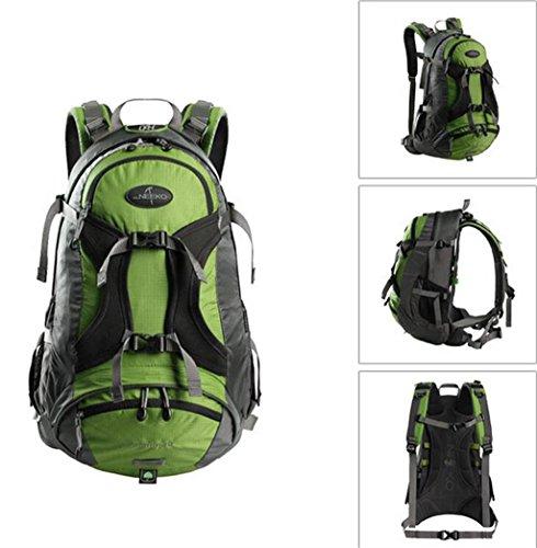 arrampicata all'aperto uomini e donne impermeabile borsa da viaggio borsa grande capacità di trekking zaino 30L borsa tracolla ( colore : Army Green , dimensioni : 30L )