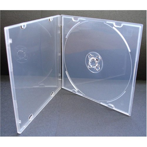 5.2mm Slim Single Clear PP Poly Cases 20 - Cd Poly Slim Case Shopping Results