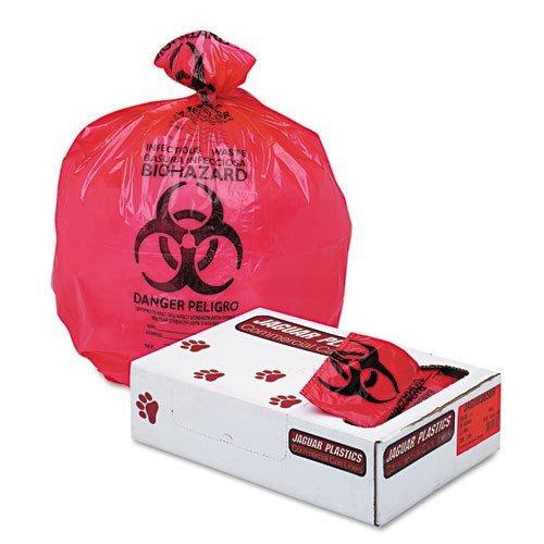 JAGIW3658R - Health Care quot; Biohazardquot; Printed Liners