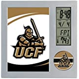 WinCraft NCAA University of Central Florida Desk Clock, Black