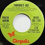 PROCOL HARUM 45 RPM PANDORA'S BOX / PANDORA'S BOX