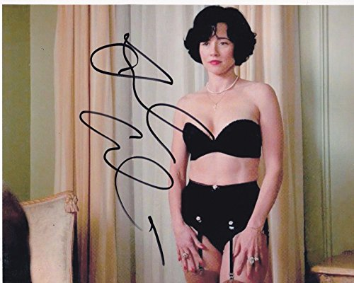 LINDA CARDELLINI SIGNED 8X10 PHOTO AUTHENTIC AUTOGRAPH MAD MEN FREAKS AND - Pictures Gents Models