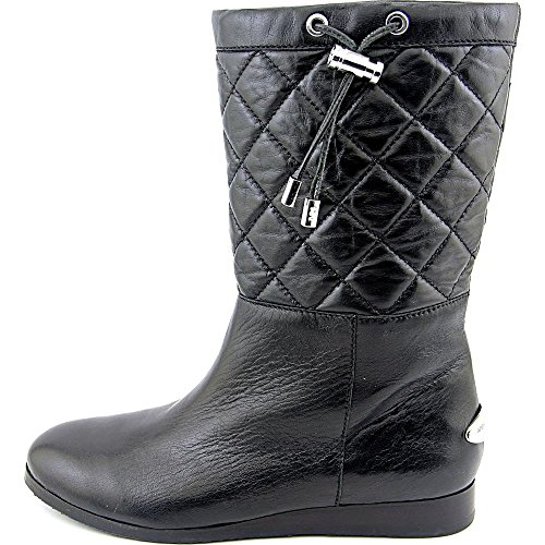 Michael Michael Kors Lizzie Quilted Mid Boot Piel Bota