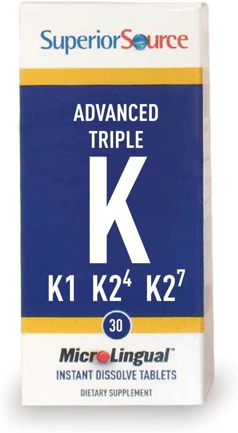 Superior Source, Vitamin K Advance Triple, 30 Tablets