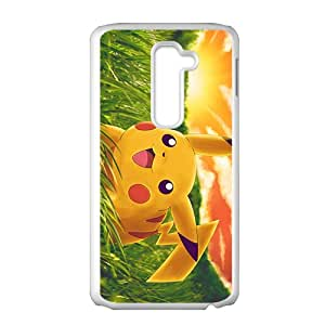 Custom Pokemon Desgin Carton TPU Case Cover Unique Durable Hard Plastic Case Cover for LG G2