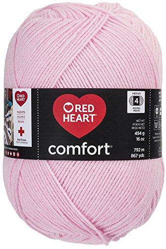 Red Heart Comfort Yarn, Light Pink