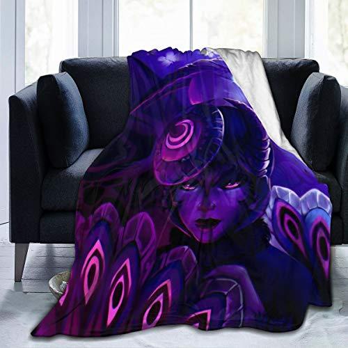 "Micro Fleece Ladybug_Mayura Throw Blankets for Kids Adults Couch Bed Sofa Chair Warm Blankets Throws Digital Printed 50""x40"""
