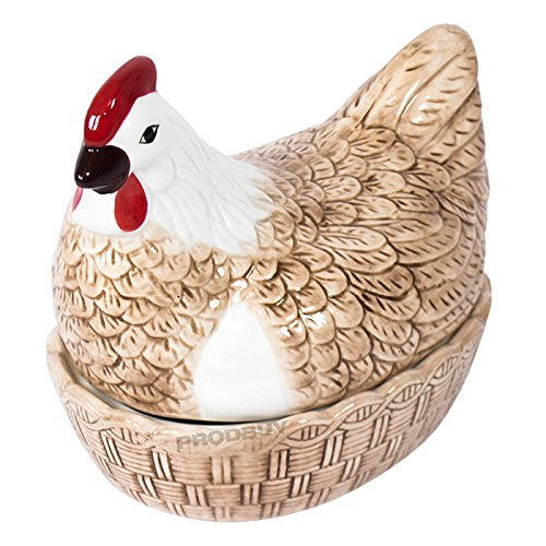 Colourful Ceramic Egg Storage Hen Nest ProdBuy Limited
