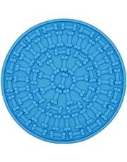 Lesgos Léchage De Chien Chien Lave Dispositif de Distraction Bain Distraction pour Chiens Chien Douche Lick Mat Kit de Lavage et de toilettage pour Animaux de Compagnie Dog Treat Paw Pad