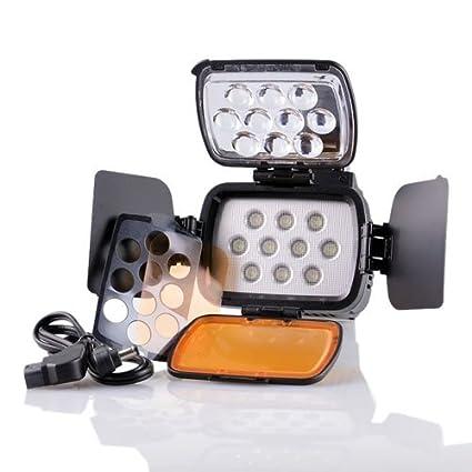 CowboyStudio Led VL-76 Ultra High Power 76 LED Digital Camera/Camcorder Video Light for Canon, Nikon, Pentax, Panasonic, Samsung and Olympus Digital SLR Cameras Cowboy Studio