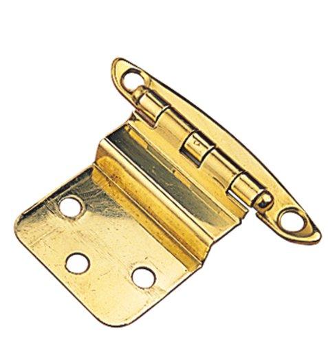 Sea Dog 201915-1 Brass Semi-Concealed Hinge, 3/8