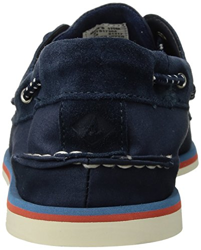 Sperry - Authentic Original 2 Eye Canvas Boat Shoe, Navy Navy