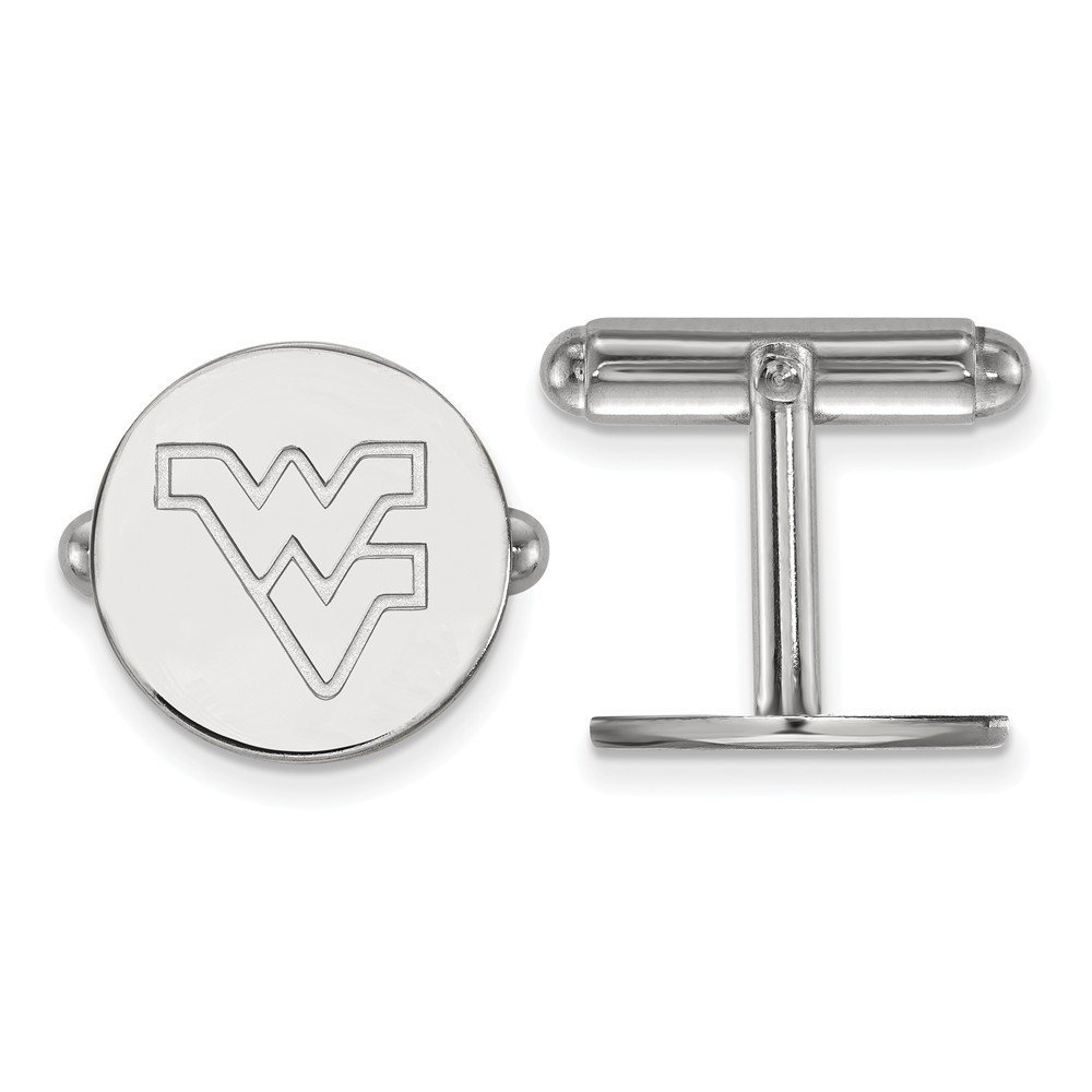 West Virginia Cuff Links (Sterling Silver)
