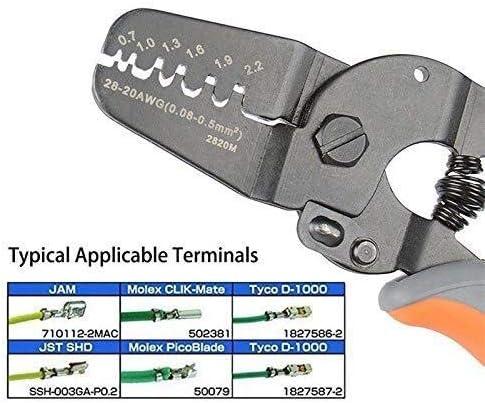 プライヤーツールプライヤーハンドツール、ミニプライヤーツールハンドストリッパーは、マイクロパワーオープンバレルクリンパで動作します