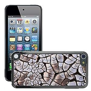 Print Motif Coque de protection Case Cover // M00154222 Arcilla fondo agrietado Seco Sequía // Apple ipod Touch 5 5G 5th 6 6G 6th