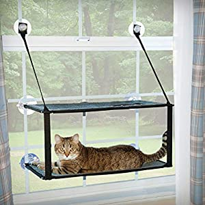 K&H Pet Products EZ Window Mount Kitty Sill - Single Level or Double Stack 30