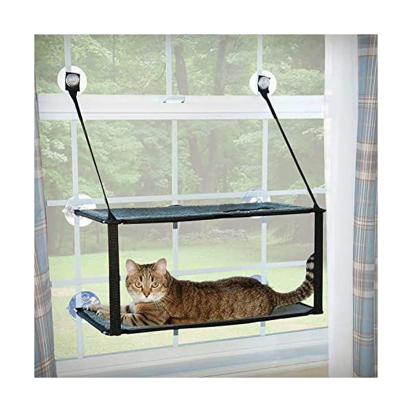 K&H Pet Products EZ Window Mount Kitty Sill - Single Level or Double Stack 1