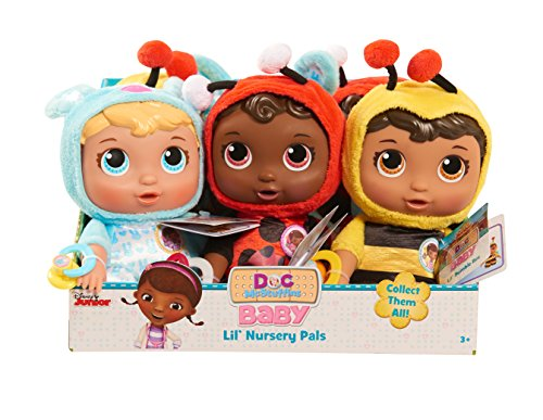 Just Play Doc Mcstuffins Plush Baby Lil (Lil Ladybug Infant Costume)