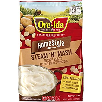 Ore Ida Steam And Mash Cut Russet Potatoes 24 Oz Frozen