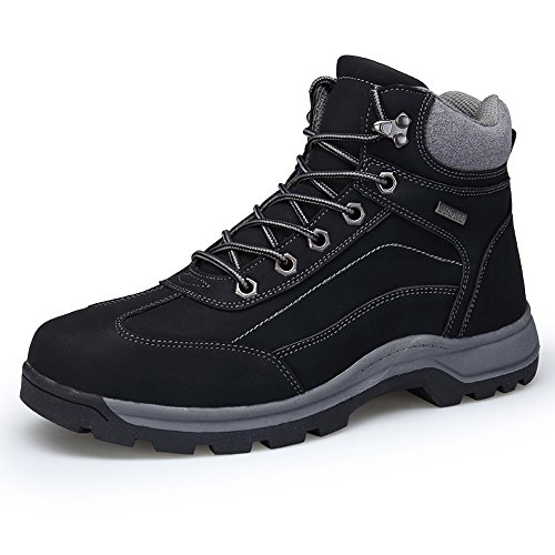 Zenobia Snow Boots For Men Waterproof Leather Fashion Comfortable Outdoor Mens Trekking Hiking Shoes