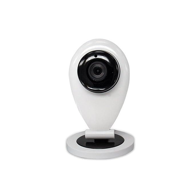HD cámaras de vigilancia con sensor de movimiento IP Camera Indoor cámara IP sin filiaudio Two Way Detección de Movimiento Visión Nocturna Apoya Micro SD: ...