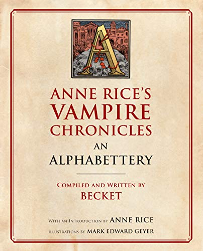 Image of Anne Rice's Vampire Chronicles An Alphabettery
