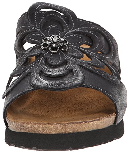 Leather Womens Black Sandals Sandy Naot xE8TSwS