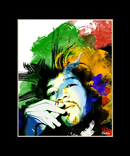 Jimi Hendrix Exclusive Artwork by
