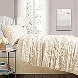 Lush Décor Belle 4 Piece Ruffled Comforter Set
