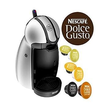 DeLonghi EDG201.S Independiente Semi-automática Máquina de café en cápsulas 0.6L Plata