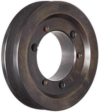 "Martin 1 3V 300 JA Narrow V-Belt Drive Sheave, 3V Belt Section, 1 Groove, JA Bushing required, Class 30 Gray Cast Iron, 3"" OD, 8270 max rpm, 2.95"" Pitch Diameter"
