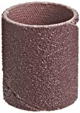 3M Cloth Band 341D, 3/4'' Diameter x 1'' Width, 80 Grit, Brown (Pack of 100)