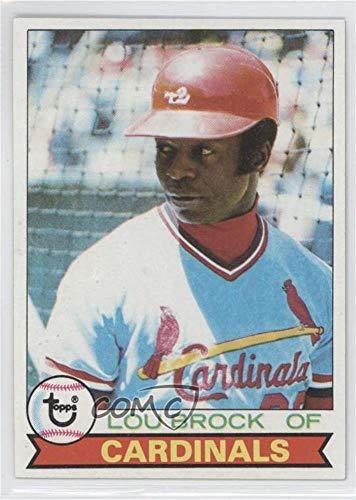 Card Lou Brock Baseball (Lou Brock (Baseball Card) 1979 Topps - [Base] #665)