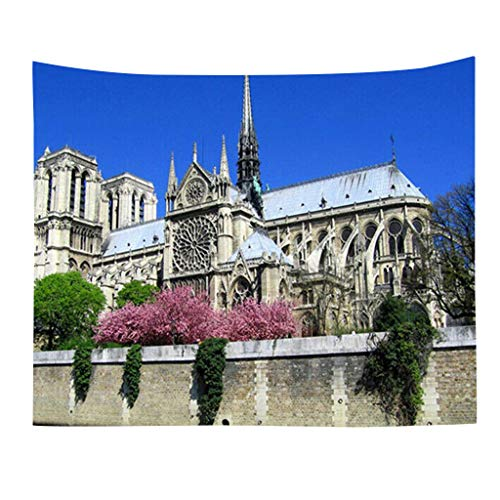 - Kay CowperBeautiful Notre Dame Home Textile Wall Tapestry Home Decor