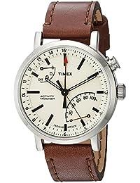 Unisex TW2P92400 Metropolitan+ Brown Stitched Leather Strap Watch