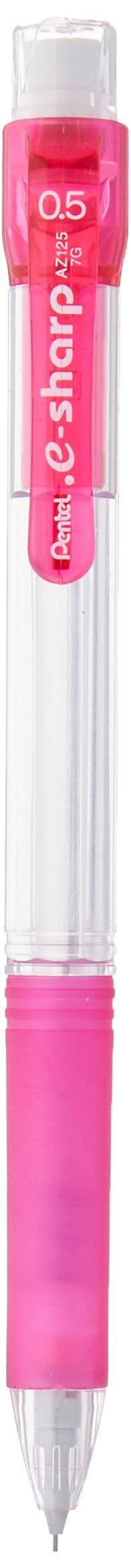 Pentel - Portaminas, e-sharp, 0,5 mm, color rosa (AZ125-P)