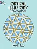 Optical Illusions Coloring Book (Dover Design Coloring Books)