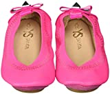 Yosi Samra Girls Selma Slip on Ballet Flat (Toddler), Shocking Pink, 8 M US Toddler