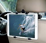 Image of MFEEL Car Back Seat Headrest Mount Holder with 360 Degree Adjustable Rotating Travel Kit for Apple iPad 2, iPad 3, iPad 4, iPad Air, iPad Mini, iPad Mini2, iPad Mini3, Galaxy Note 10.1 - Black