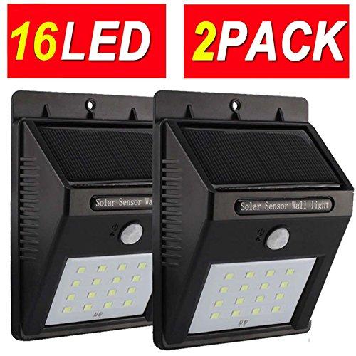 Sogrand 16LED Solar Motion Weatherproof Sensor Light (Pack ...
