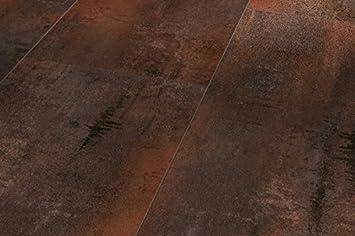 PARADOR Trendtime 5   Laminatfußbodenbelag Klick Steindekor Laminat  Ferrostone Steinstruktur 4 Seitige V Fuge