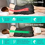 AERIS Knee Pillow for Side Sleepers -%100 Memory